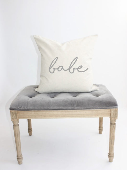 BABE Pillow Cover