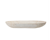 Whitewash Dough Bowl