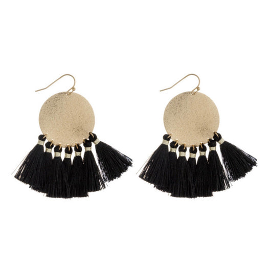 The Tatum Tassel Earrings