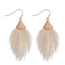 The Ivori Tassel Earrings