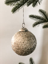 Vintage Mica Flake Ornament