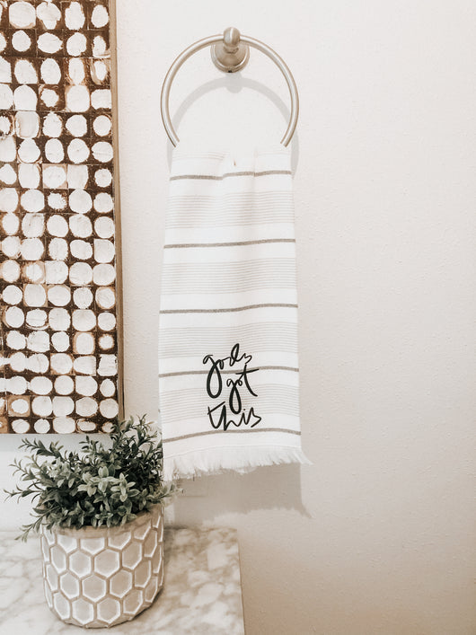 God's Got This Hand Towel