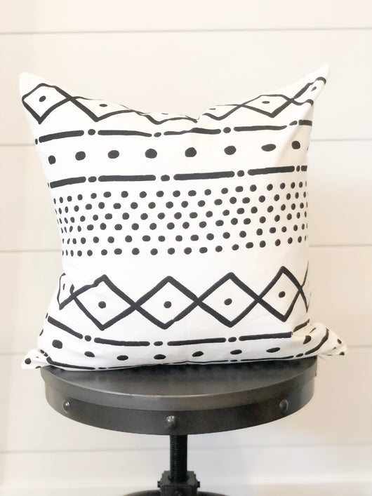 James Mudcloth Printed Pillow Cover