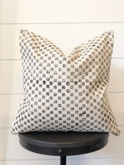 Dottie Printed Canvas Pillow Cover