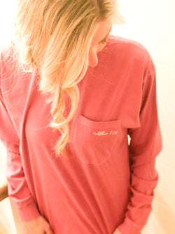Be the Light Long Sleeve In Peony Pink