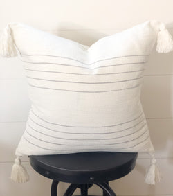 The Cameron Tassel Pillow Cover