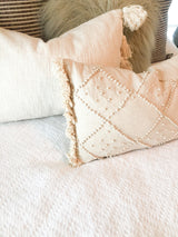 The Sadie textured kidney pillow