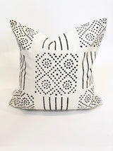 Zulu Mudcloth Printed Pillow Cover