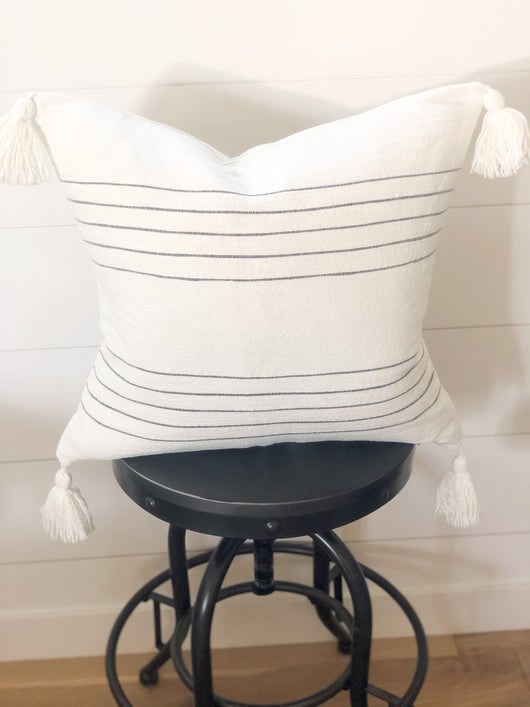 The Cade Tassel Pillow Cover