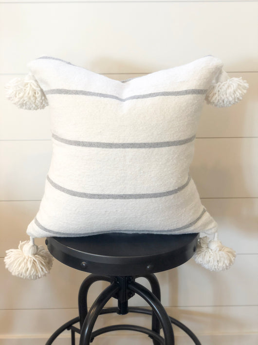 The Haven Tassel Pillow Cover