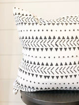 Deka Printed Mudcloth Pillow Cover