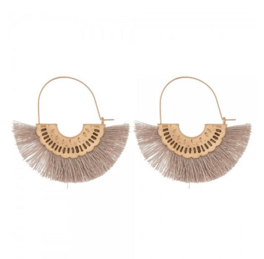 The Nicole Fringe Earrings
