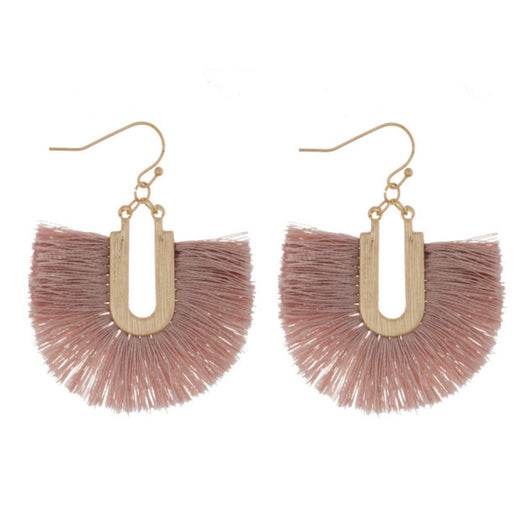 The Hazel Fringe Earrings