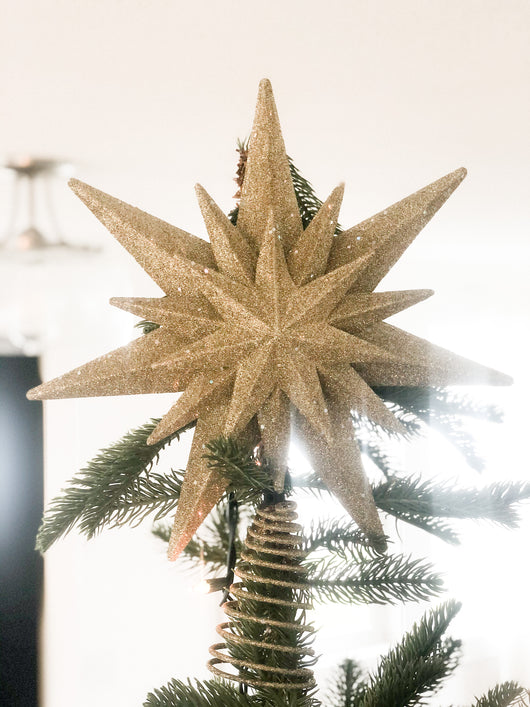 Goldie Star Tree Topper