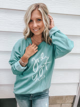 God's Got This Sweatshirt teal