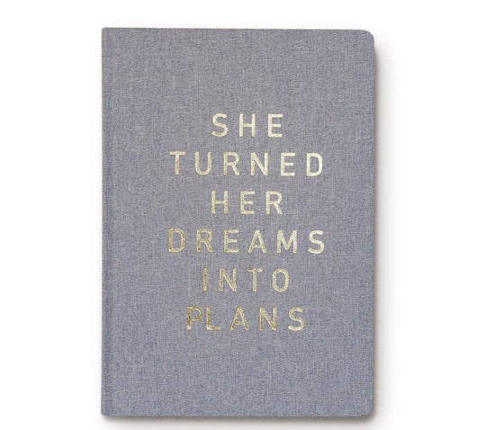 Prayer Journal She turned her dreams into plans