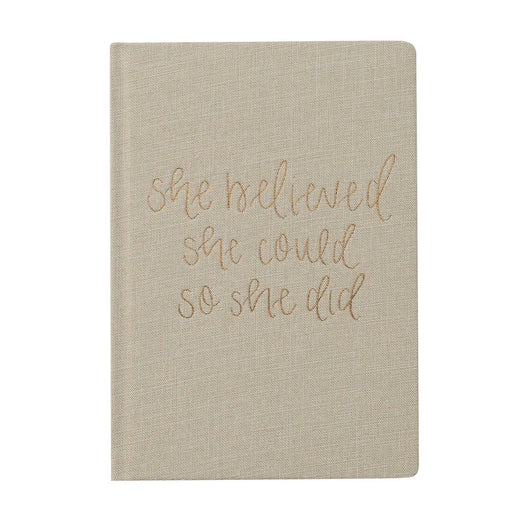 Prayer Journal She Believed