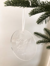God's Got This acrylic etched Ornament