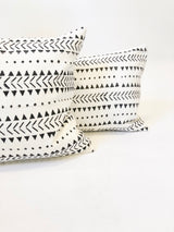 Tumelo Printed Mudcloth Kidney Pillow Cover