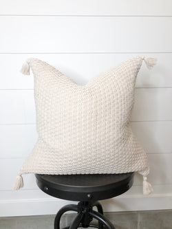 Lindie Tassel Pillow Cover