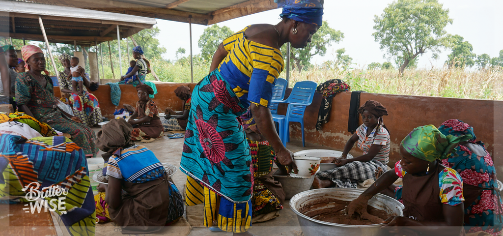 Traditional hand-crafted shea butter