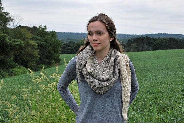 Enola Yards Scarf Pattern