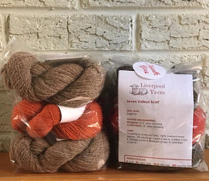 Seven Valleys Scarf Kit
