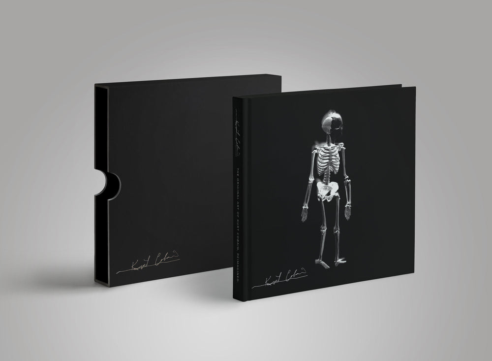 Coffee Table Book-Kurt Cobain