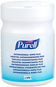 PURELL® Ability Superstore Purell Antimicrobial Wipes Plus Tub - 1 X Pack of 270