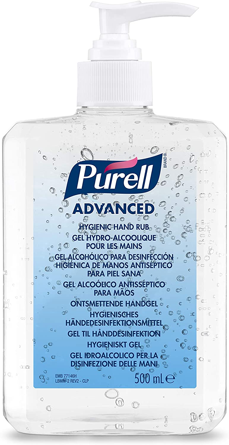 PURELL® Advanced Hygienic Hand Rub Pump Bottle, 300 ml