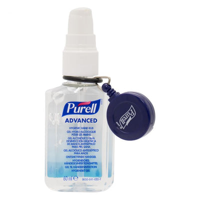 PURELL® Personal Gear Retractable Clip Blue X 1