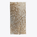 Beige Brown Beach Towel