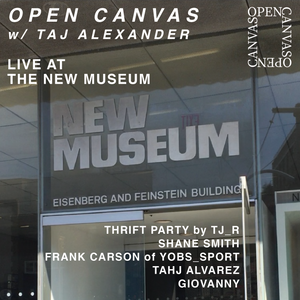 EPISODE 110 LIVE AT THE NEW MUSEUM