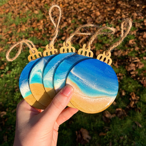 Gold Beach Ornaments