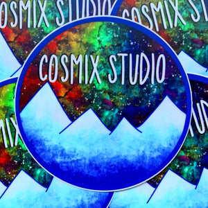 Original Cosmix Studio Logo Sticker