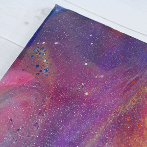 Purple and Orange Galaxy