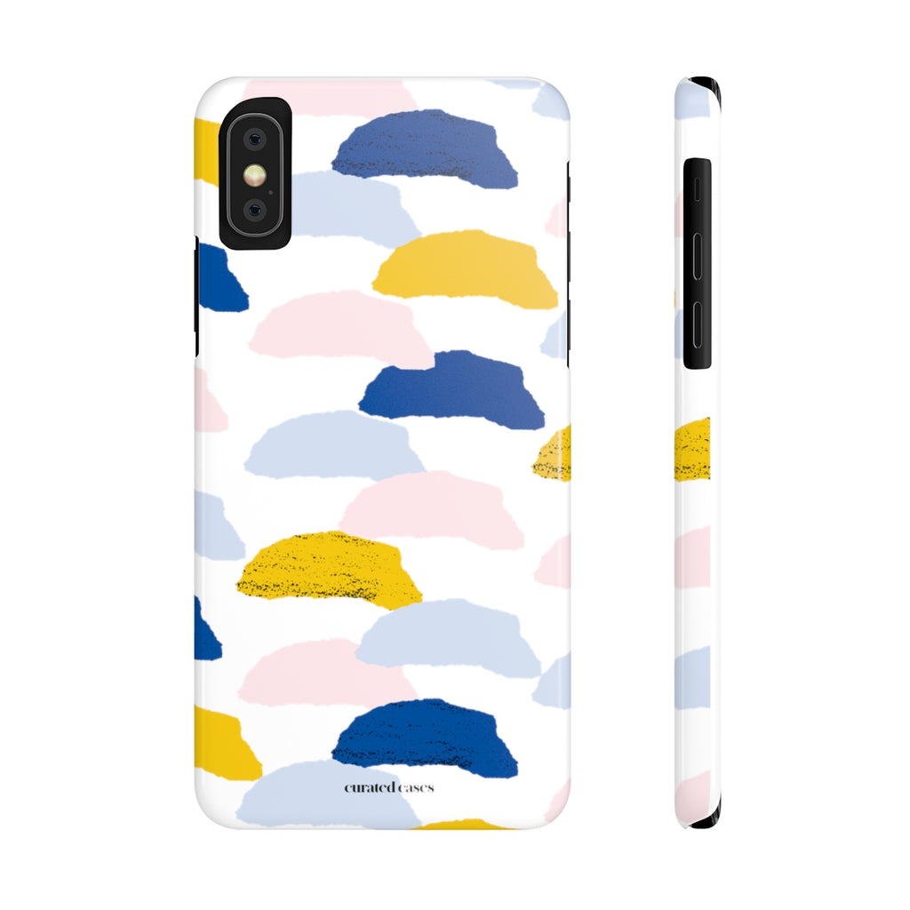Golden Clouds iPhone Case | Slim Snap Phone Cover