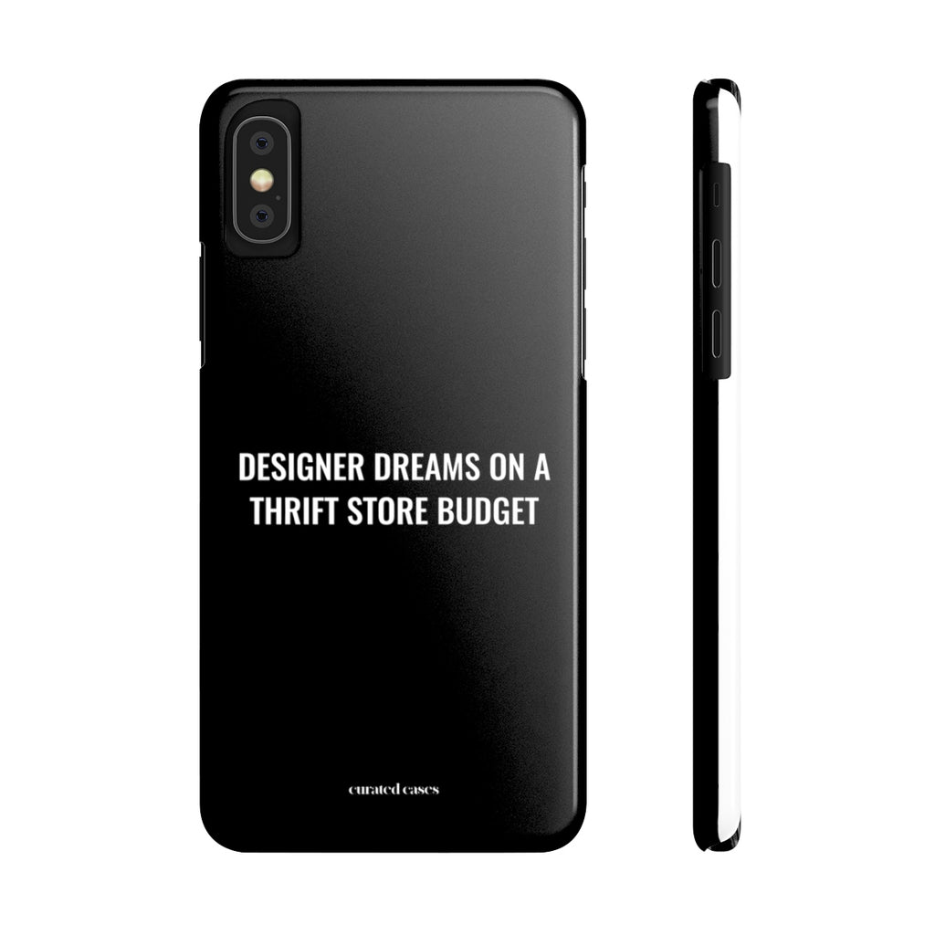 Designer Dreams iPhone Case | Slim Snap Phone Cover