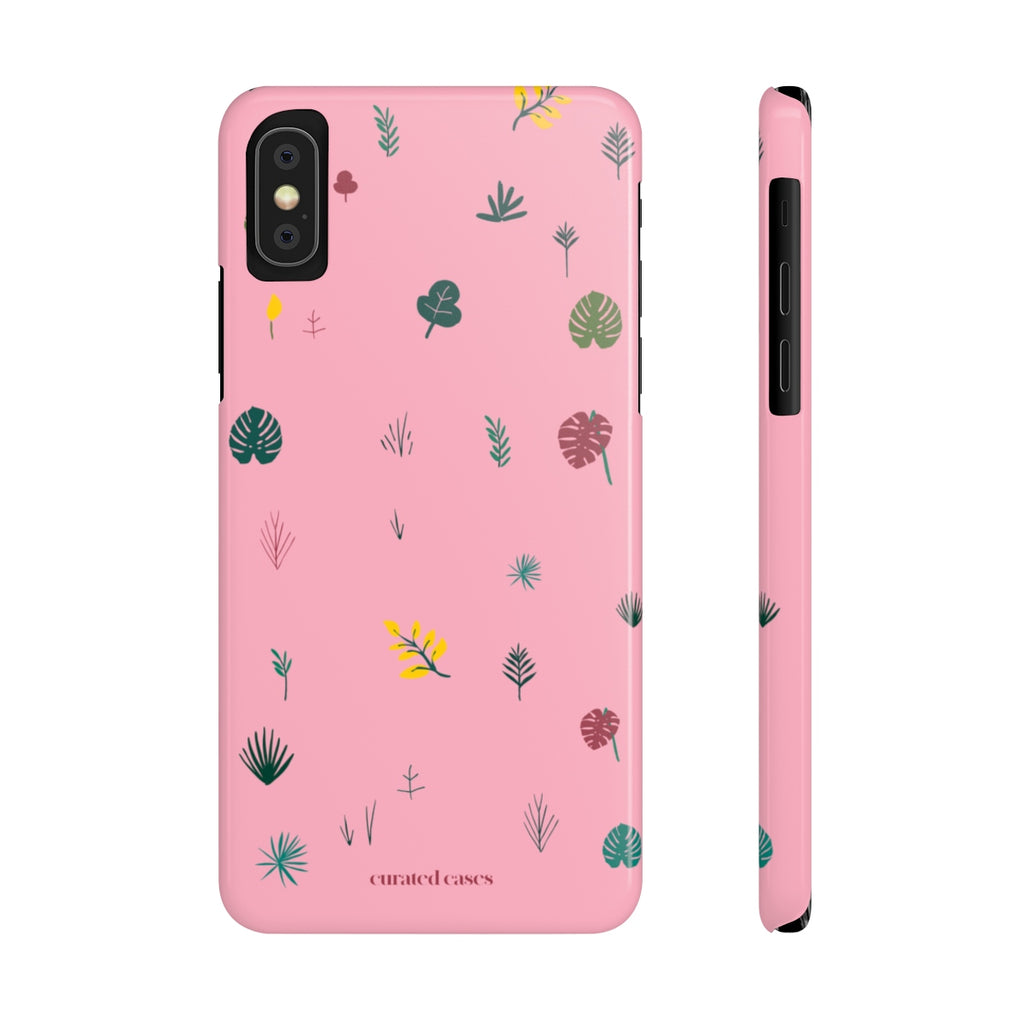 Plant Life iPhone Case | Slim Snap Phone Cover