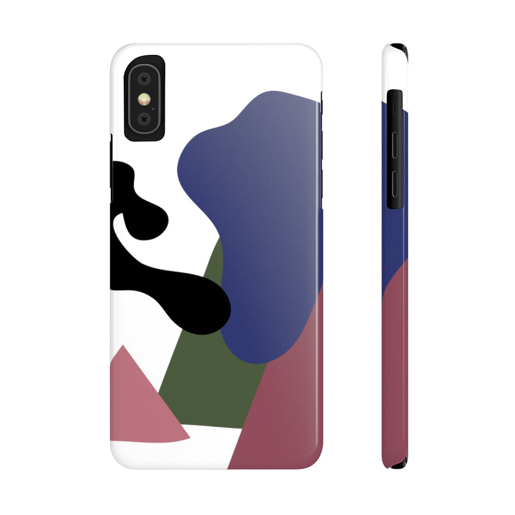 Squiggles iPhone Case | Slim Snap Phone Cover