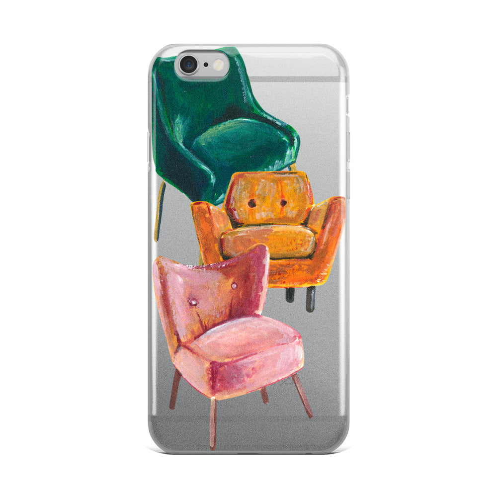 Chairs iPhone Case | Flexible Phone Cover