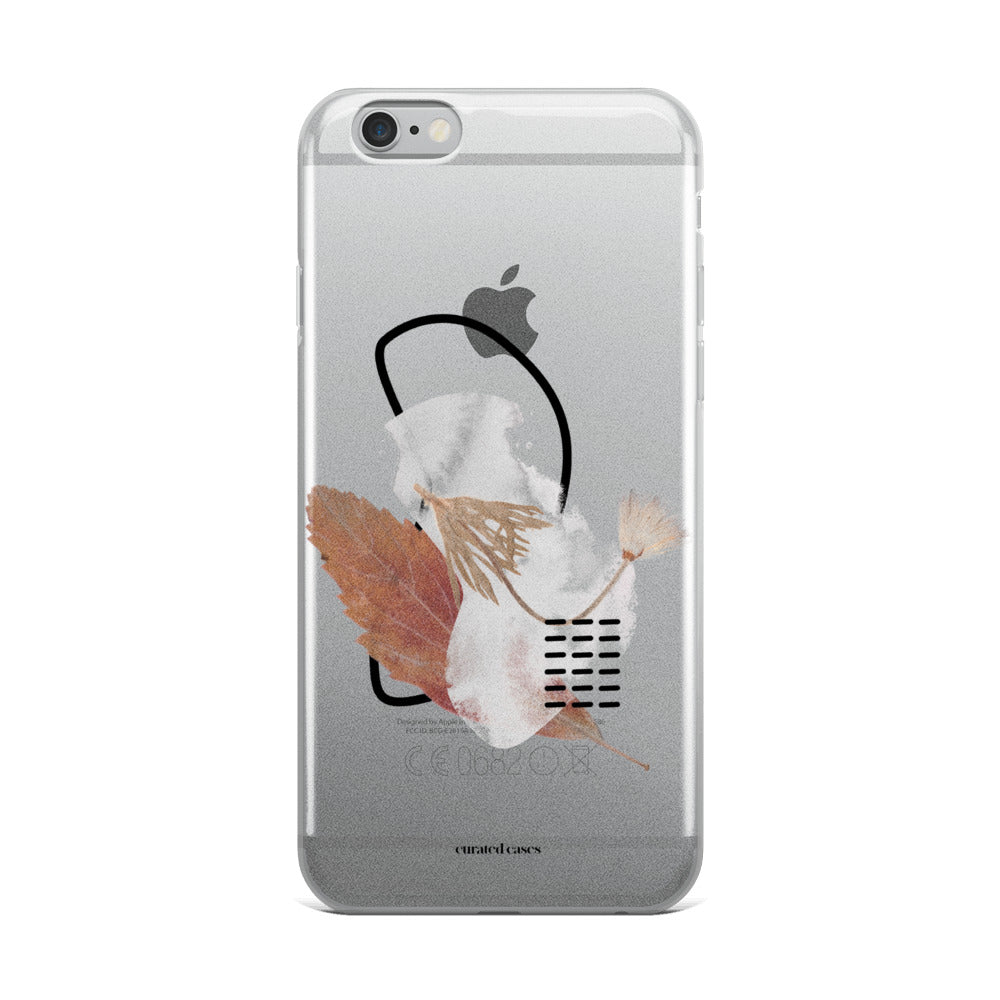 Fall Contemporary iPhone Case | Flexible Phone Cover