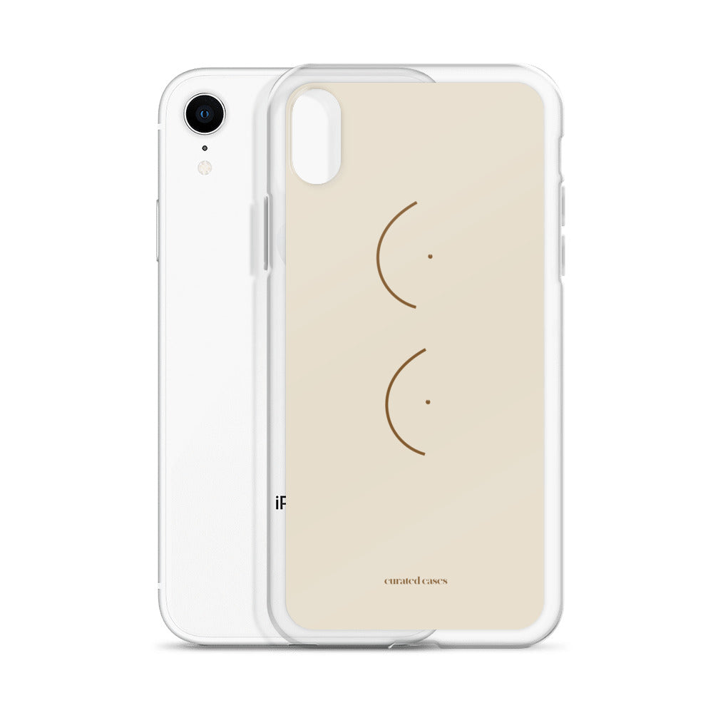 Boobs CHARITABLE iPhone Case | Flexible Phone Cover