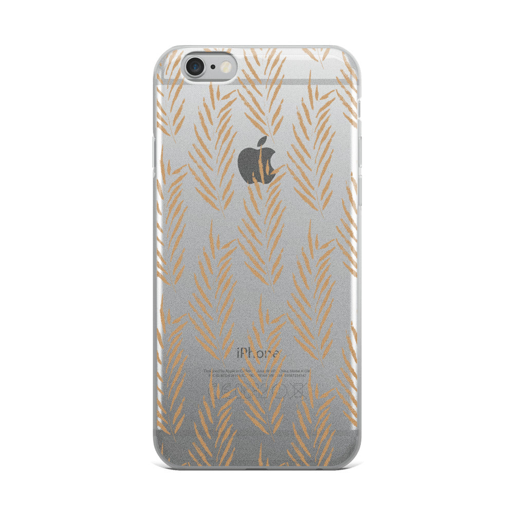 Dried Palm iPhone Case | Flexible Phone Cover
