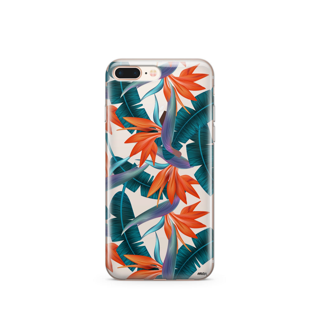 Bird of Paradise iPhone Case | Flexible Phone Cover