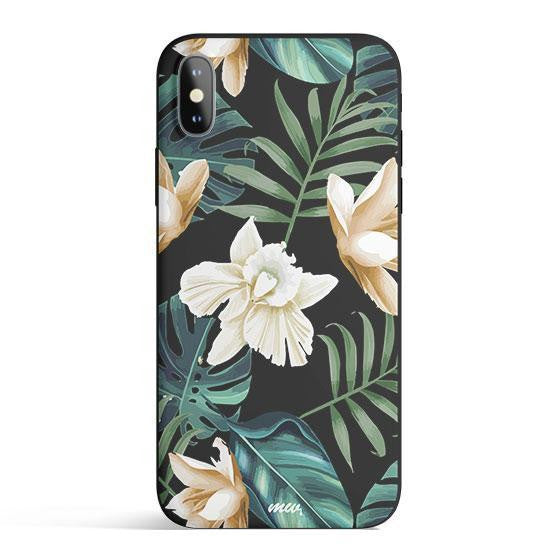 Luxe Greenery iPhone Case | Multiple Colors | Slim Snap Phone Cover