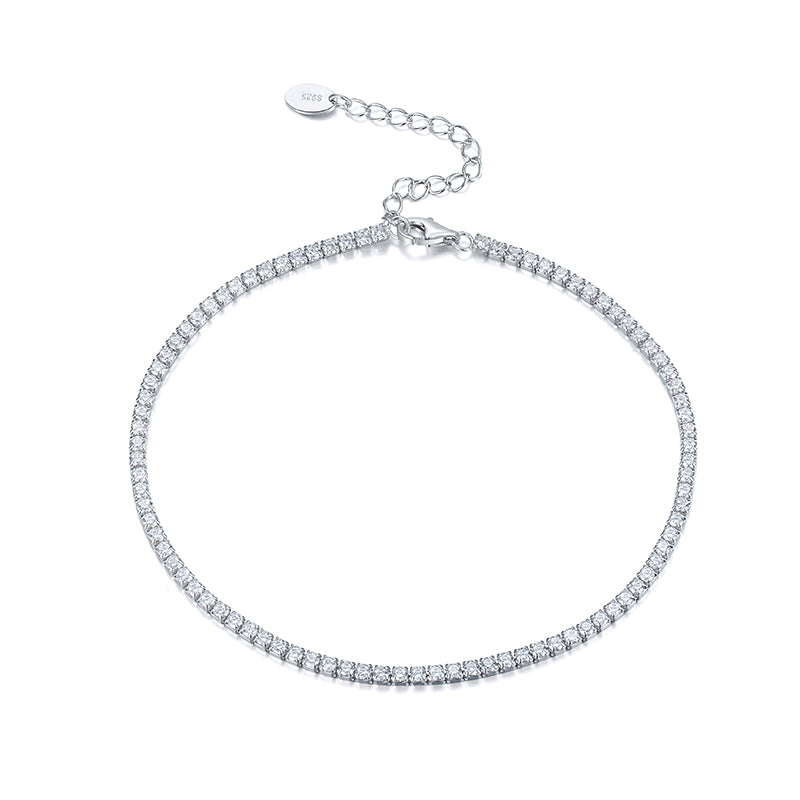 Diamond Tennis Anklet