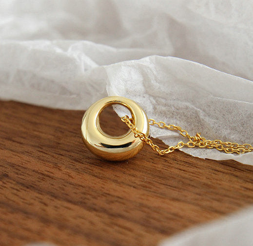 Gold Lulu Pendant Necklace