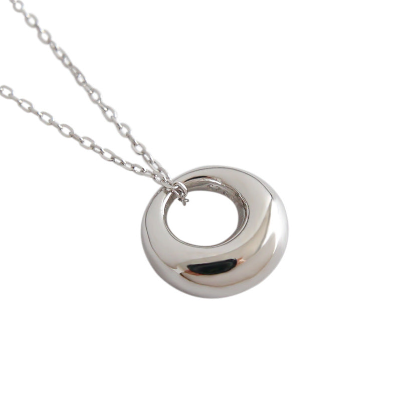 Silver Lulu Pendant Necklace
