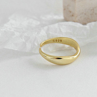 Adjustable Gold Teres Ring